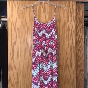 Mult color mini dress